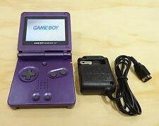 Nintendo Game Boy Advance GBA SP Purple System AGS 101 Brighter MINT NEW