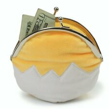 GUND Sanrio Gudetama The Lazy Egg Coin Purse Plush, 5""