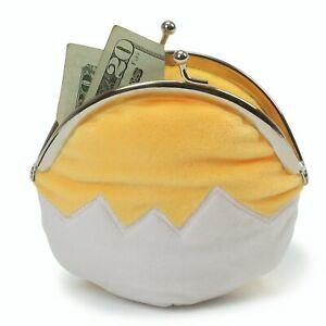 """GUND Sanrio Gudetama The Lazy Egg Coin Purse Plush, 5"""""""