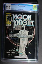MOON KNIGHT #38 LAST issue 1984 ZOHAR Netflix TV? MIKE KALUTA cover CGC NM+ 9.6
