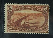 CKStamps: US Stamps Collection Scott#293 $2 Mint NH OG Gum Dist Lightly Crease