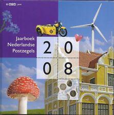 Nederland NVPH Jaarboek 2008 Uitgave TNT Post met alle zegels Postfris