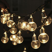 6M 20 LEDs G45 Globe Festoon Party Fairy String Lights Festival Home Decorations