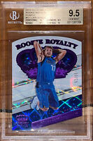 2018 Luka Doncic CROWN ROYALE ROOKIE ROYALTY PURPLE /25 13 BGS 9.5,10 Subs prizm