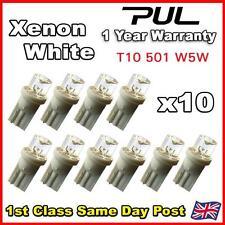 10 x LED Côté Ampoules T10 W5W 501 Xenon Super Blanc