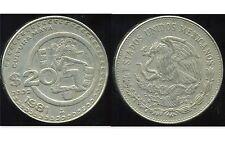 MEXIQUE  20 pesos 1981  ( bis )