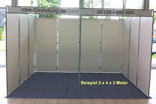 Messestand Trennwand  Messe System Josy Speed Raumteiler Leichtbauwand