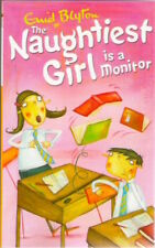 THE NAUGHTIEST GIRL IS A MONITOR Enid Blyton Brand New paperback Childs Classic