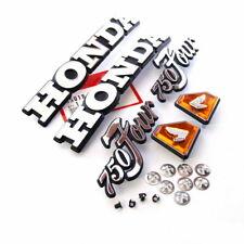 Honda CB 750 Four K2 - K5 Embleme Set Seitendeckel Tank Emblem Kit Original