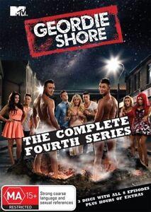 Geordie Shore : Series 4 : 3 Disc : NEW DVD