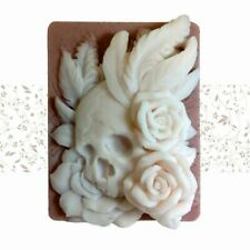Silicone Mold Skulls And Roses Handmade Soap Mold DIY Cake Decorating Tools