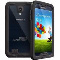 Genuine Lifeproof Nuud Waterproof Protective Case For Samsung Galaxy S4 - Black
