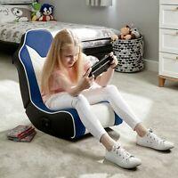 New X-Rocker Chimera 2.0 Gaming Chair - Blue-GB90.