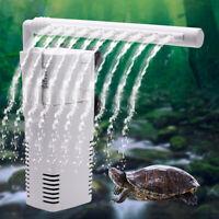 LT_ JW_ HB- Turtle Fish Tank Aquarium Submersible Water Oxygen Pump Mini Inter