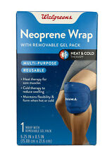 Neoprene Wrap With Removable Gel Pack Heat & Cold Therapy Multi-Purpose Reusable