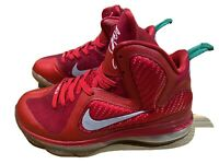 Lebron 9 GS Size 6.5Y Christmas 472664-602 Red-greed