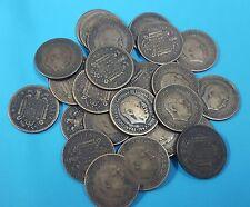 FRANCO. Lote 3 monedas de 1 Peseta año 1947*1952*53*54. CIRCULADAS de BC a MBC.