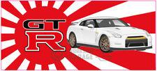 New! Collectable Rising Sun Nissan Skyline GTR R35 - white