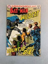 The Brave And The Bold 88 Batman Wildcat DC Comics 1970 Complete No Cut Outs