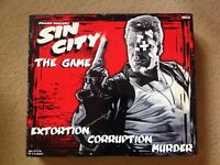 Frank Miller's Sin City The Board Game - Neca Used & Complete Sent POST FREE UK