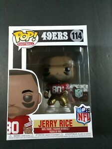 JERRY RICE  Funko Pop! #114 San Francisco 49ers