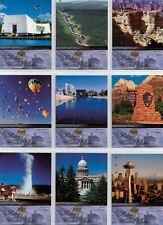 2004 THE HISTORY OF THE UNITED STATES COMPLETE TRADING CARD SET (300)