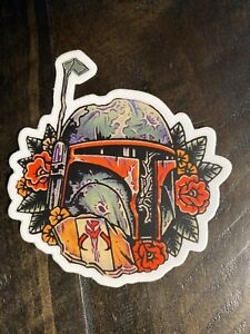 Boba Fett Mandalorian Vinyl Sticker/ Decal
