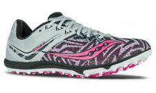 Saucony Havok XC Flat Women's Running Shoes Silver/Pink, Size 7 M
