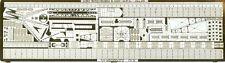TOMS MODEL WORKS 1/700 USS Indianapolis Battleship Detail Set TMW748