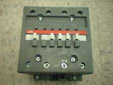 ABB AE50-40  4 pole Contactor 24vdc 24V 80A, High Amperage (relay)