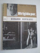 DIRIGIDO POR...Nº 3 Bernardo Betolucci RARE SPAIN FILM MAG DIC 1972 Cult Film