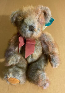 """Russ Small Colorful Bear Named Mayberry 6"""""""