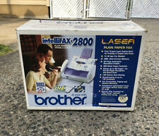 Brother IntelliFAX 2800 Laser Plain Paper Fax Phone and Copier - New In Box