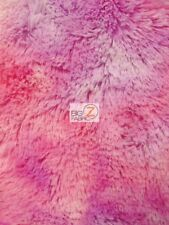 SOLID SHAGGY MINKY FABRIC - Rainbow 3 - BY THE YARD BABY SOFT BLANKET DECOR