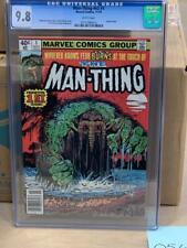 MAN-THING VOL 2, #1, (1980), Marvel Comics CGC 9.8