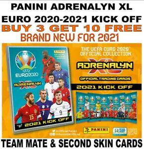 Panini Adrenalyn XL EURO 2020 2021 KICK OFF - Team Mates/ Second Skin #10 - #225