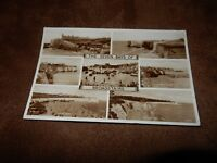 1950s real photographic Kent postcard  - Broadstairs multi view