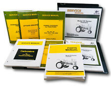 Master Service Parts Manual For John Deere 60 Tractor Shop Book Catalog