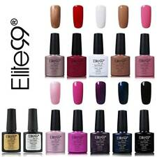 Elite99 UV Nagellack Soak Off Gel Polish Nagelgel Set 10 Farben + Top Base Coat