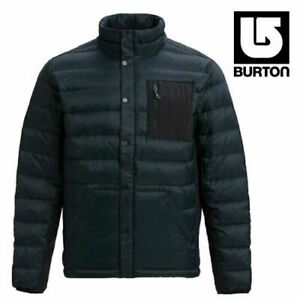 Burton Evergreen Down Insulated Men's Jacket Black sz L Large - Water Repellent