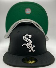 Chicago White Sox Custom New Era 2003 All-Star Game Patch 59Fifty Wool Green UV