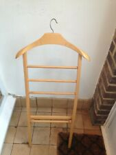 VALET STAND clothing stand Wooden SUIT HOLDER