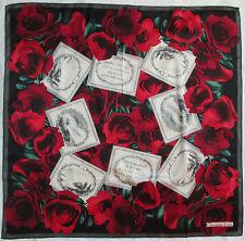 -Superbe Foulard  CHRISTIAN DIOR  100% soie  TBEG  vintage scarf   88 x 90 cm