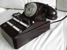 antique Phone desk BAKELITE ART DECO bell RETRO DIAL PHONE office Directore old