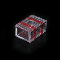 Transparent Magic Box That Cannot Be Opened Close-up Stage Magic Tricks RFEC