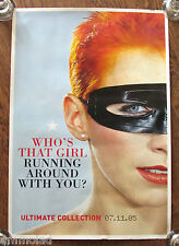 Very Rare Eurythmics Annie Lennox 2005 Large Vintage Promo Poster Whos That Girl