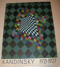 KANDINSKY COLOR LITHOGRAPH & 3 B/W Prints MAEGHT Derrière le Miroir No 118 Wraps