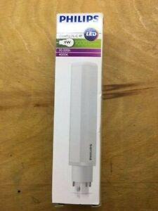 9W G24 4 pin Low Energy CFL PL-C 4P Stick Light Bulb 4000K 1000 Lumens Lamp