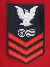 U.S. Navy Postal Clerk Petty Officer 1st Class E6 Rating Patch