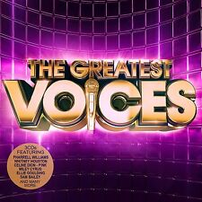 The Greatest Voices ~ 3CDS PHARELL WILLIAMS,PINK,SADE,LITTLE MIX AND MORE